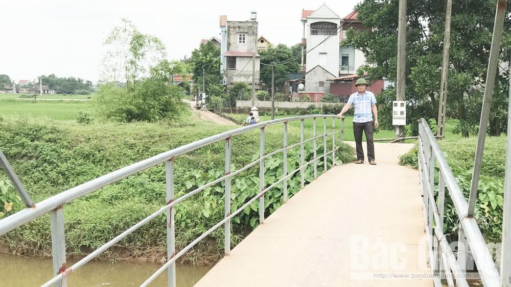 Anh Nguyễn Thế Dương, xã Hoàng Lương (Hiệp Hòa): Nối nhịp bờ vui